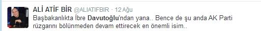 Sosyal medyada Davutoğlu sesleri 5