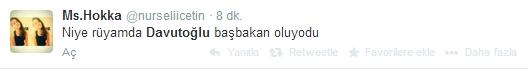 Sosyal medyada Davutoğlu sesleri 7