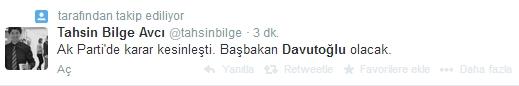 Sosyal medyada Davutoğlu sesleri 9