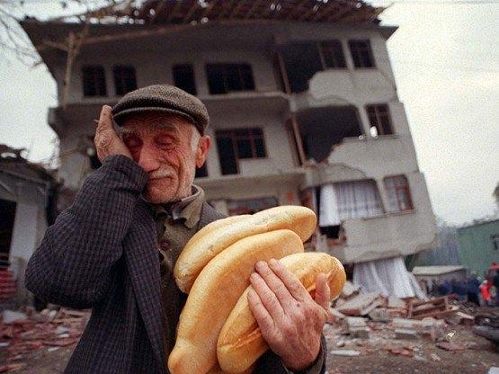 15 yıl önce Türkiye'yi yasa boğan faciadan kareler 43