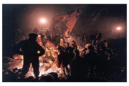 15 yıl önce Türkiye'yi yasa boğan faciadan kareler 51