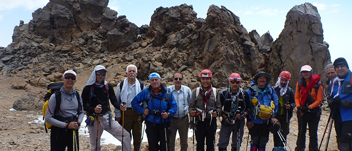 Türk dağcılar İran'ın en yüksek dağına çıktı 10