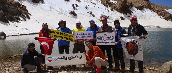 Türk dağcılar İran'ın en yüksek dağına çıktı 11