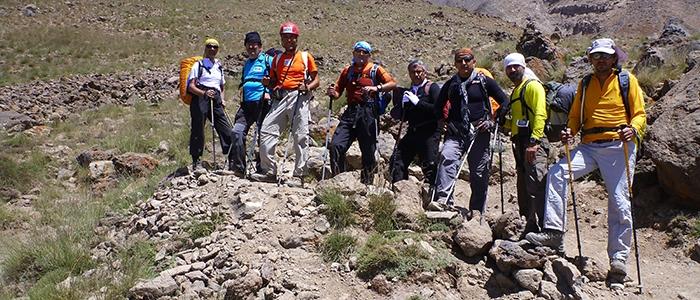 Türk dağcılar İran'ın en yüksek dağına çıktı 3