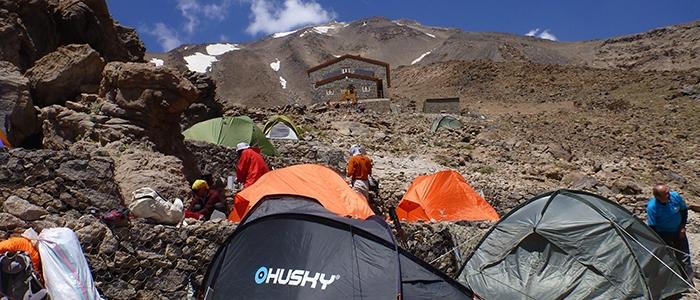 Türk dağcılar İran'ın en yüksek dağına çıktı 4