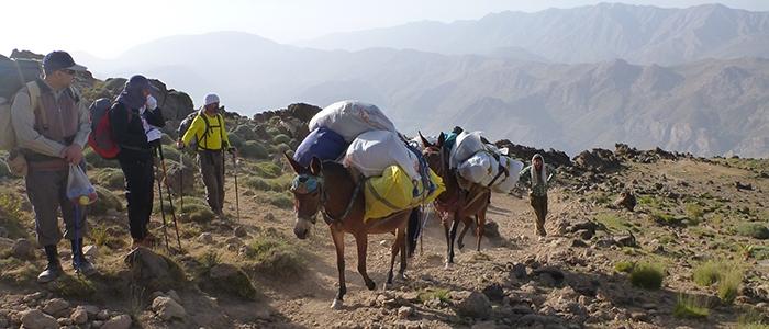 Türk dağcılar İran'ın en yüksek dağına çıktı 5