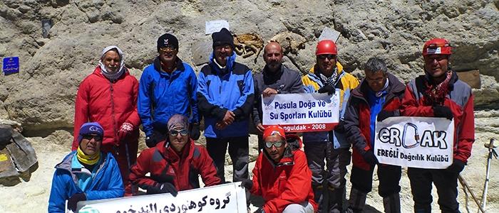 Türk dağcılar İran'ın en yüksek dağına çıktı 6