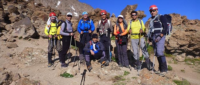 Türk dağcılar İran'ın en yüksek dağına çıktı 8