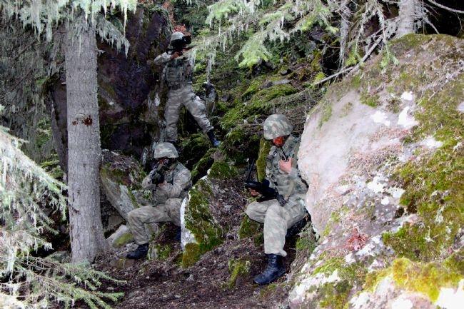 Türk Ramboları Köroğlu'nun dağlarında 13