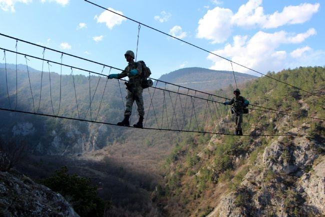 Türk Ramboları Köroğlu'nun dağlarında 16