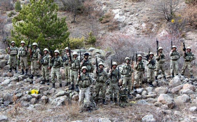 Türk Ramboları Köroğlu'nun dağlarında 17