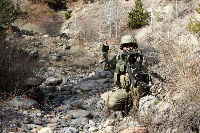 Türk Ramboları Köroğlu'nun dağlarında 4