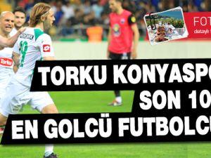 Torku Konyaspor'da son 10 yılın en golcü futbolcuları