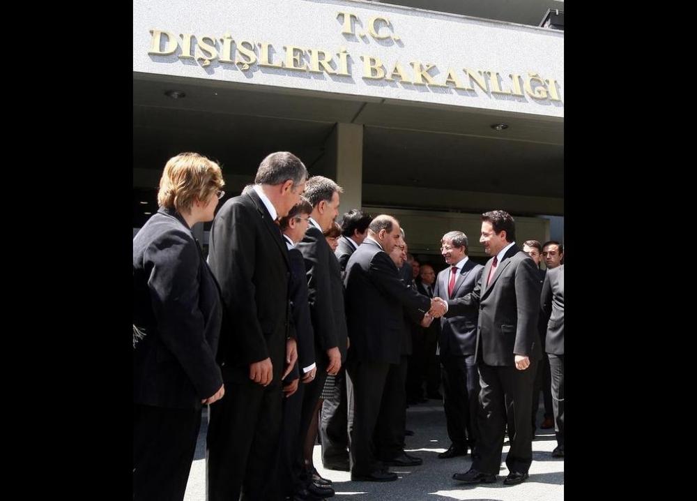 Davutoğlu'nun en ilginç fotoğrafları 10