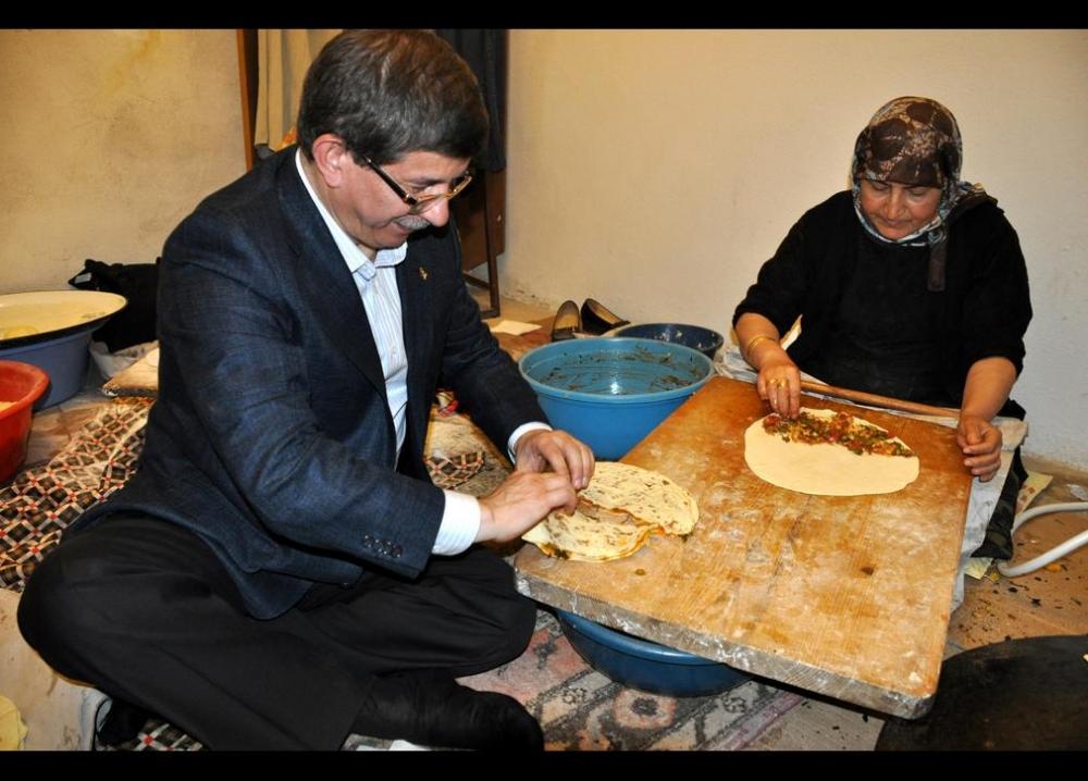 Davutoğlu'nun en ilginç fotoğrafları 12