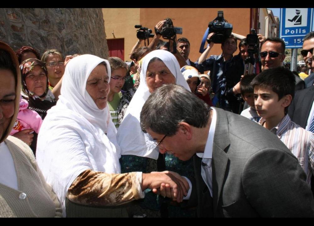 Davutoğlu'nun en ilginç fotoğrafları 13
