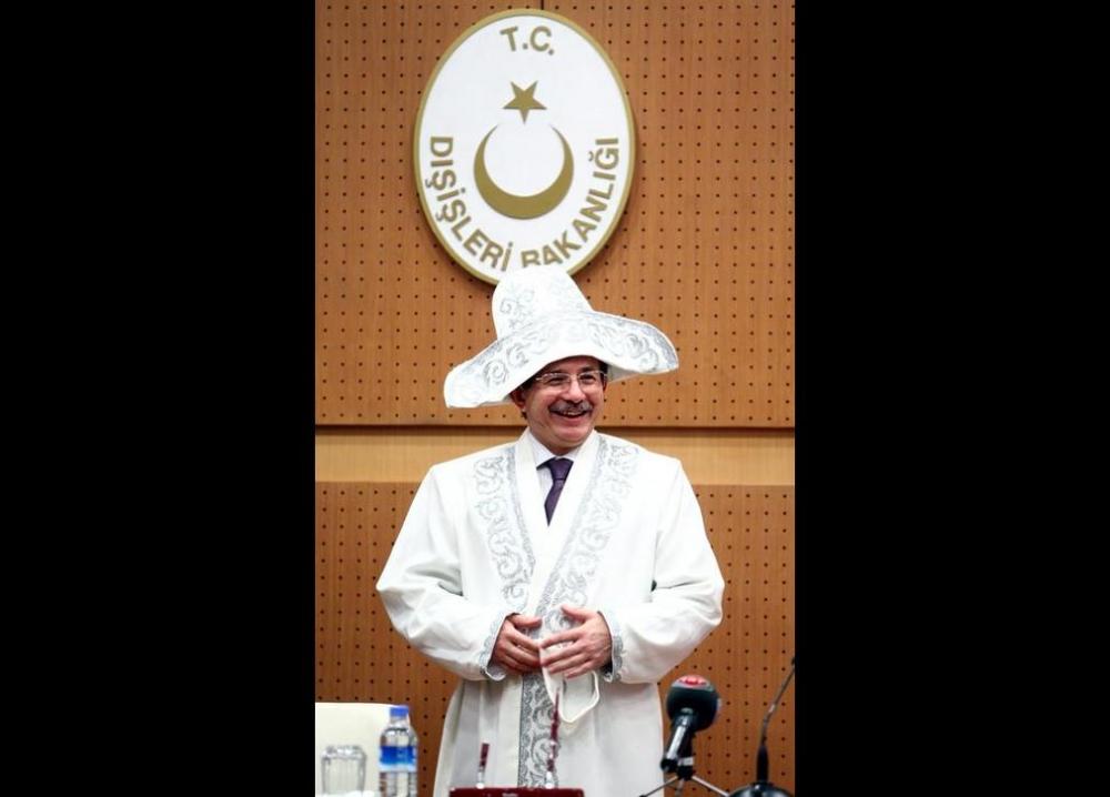 Davutoğlu'nun en ilginç fotoğrafları 18