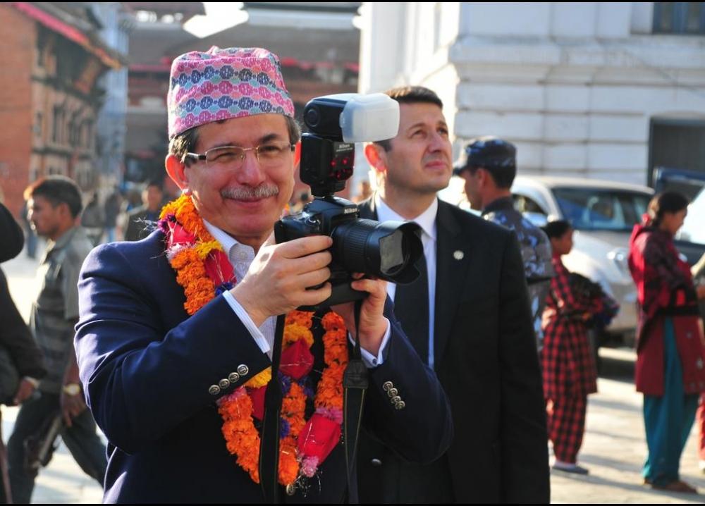Davutoğlu'nun en ilginç fotoğrafları 19