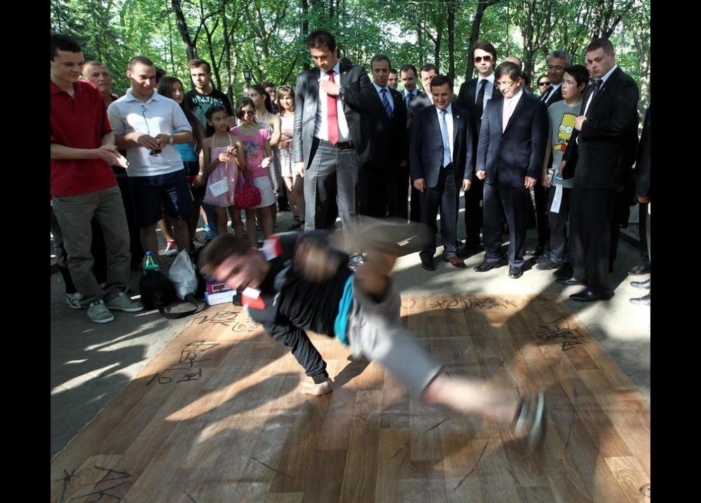 Davutoğlu'nun en ilginç fotoğrafları 26