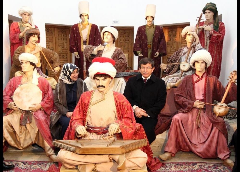 Davutoğlu'nun en ilginç fotoğrafları 37