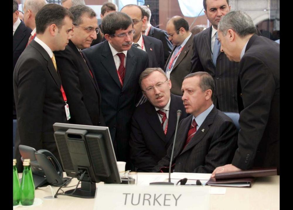 Davutoğlu'nun en ilginç fotoğrafları 8