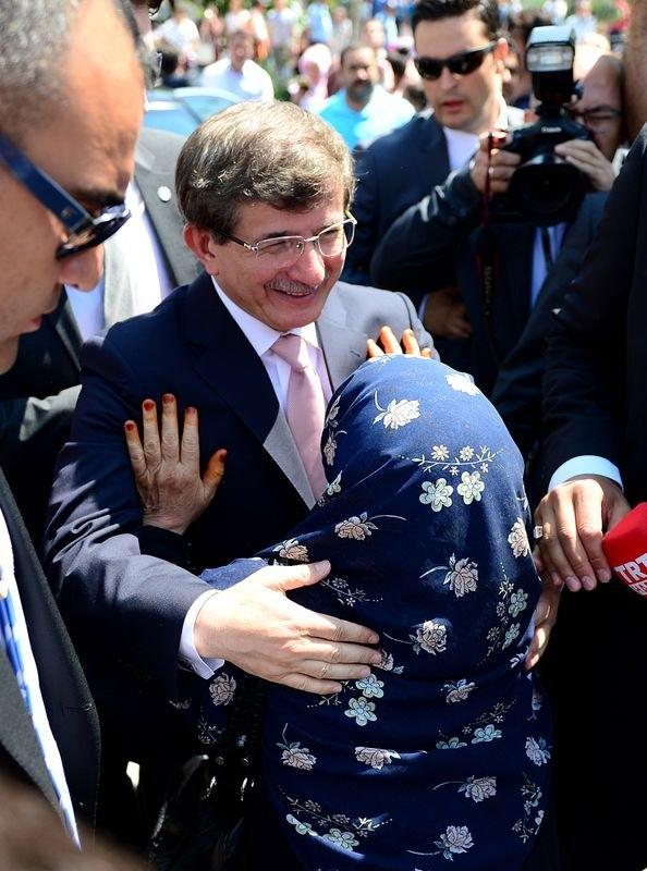 Erdoğan'la Davutoğlu Cuma'yı beraber kıldı 33