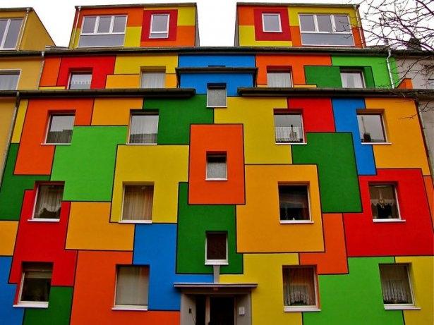 Dünyanın en güzel renkli evleri 11
