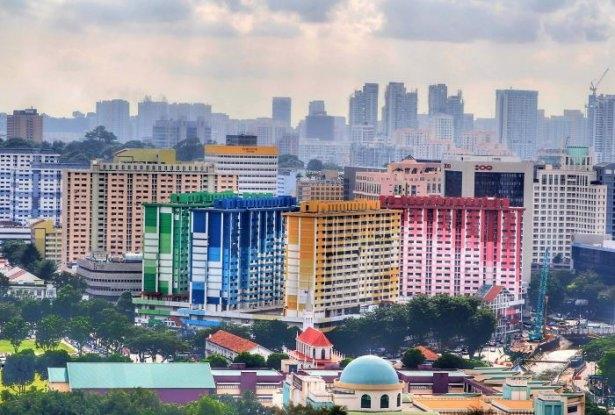 Dünyanın en güzel renkli evleri 15