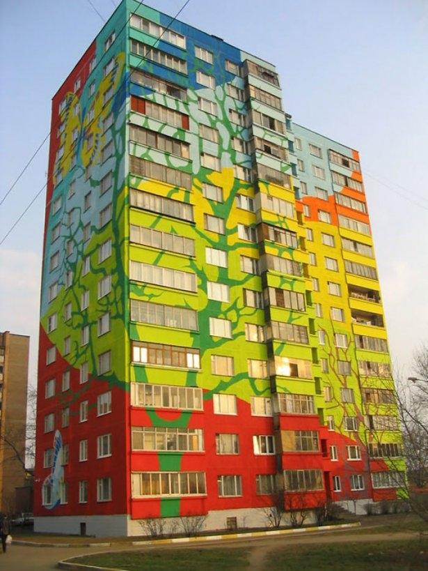Dünyanın en güzel renkli evleri 16