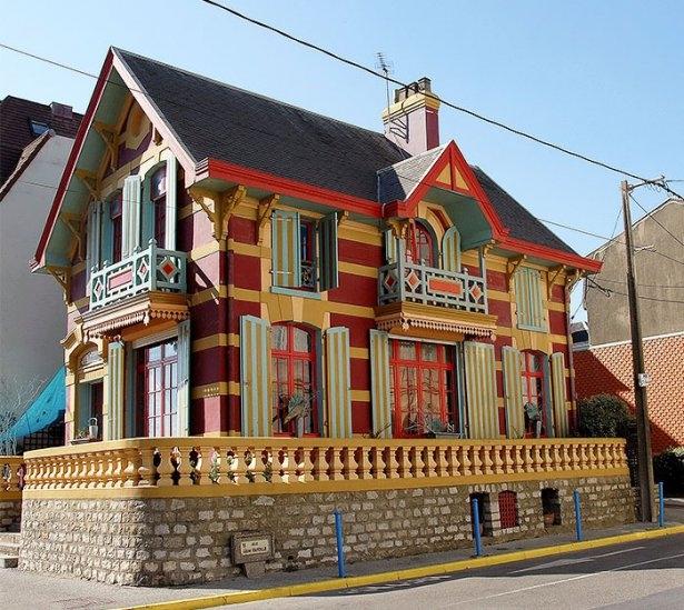 Dünyanın en güzel renkli evleri 17