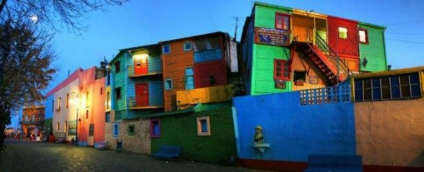 Dünyanın en güzel renkli evleri 18
