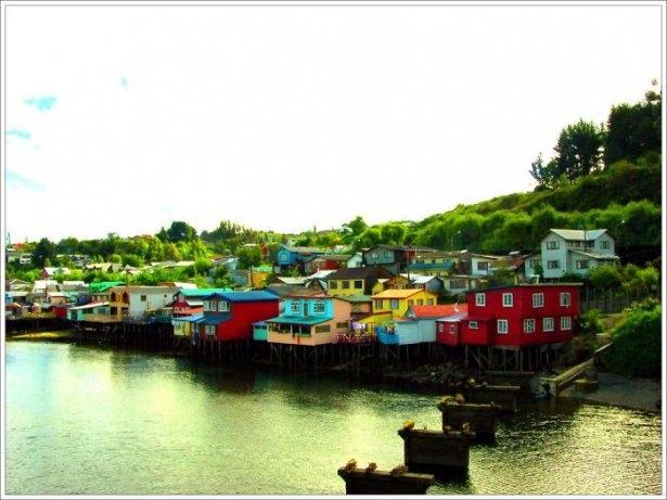 Dünyanın en güzel renkli evleri 21