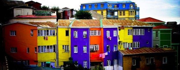 Dünyanın en güzel renkli evleri 23