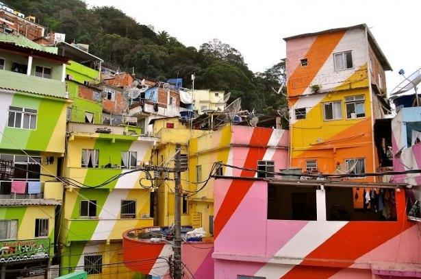 Dünyanın en güzel renkli evleri 24