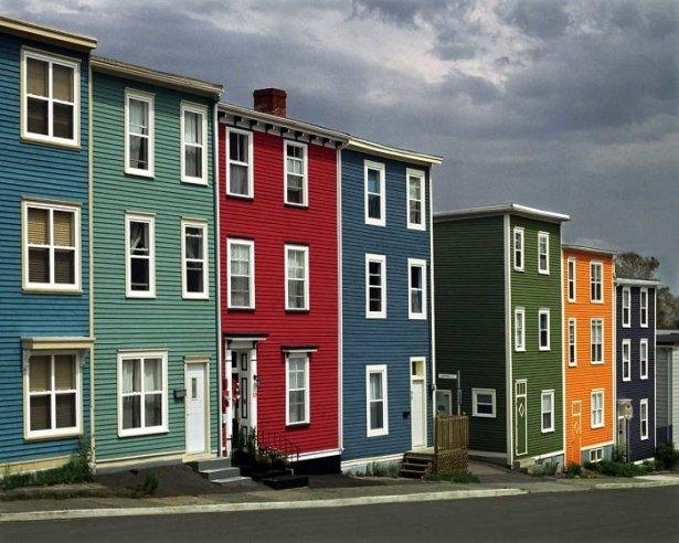 Dünyanın en güzel renkli evleri 34