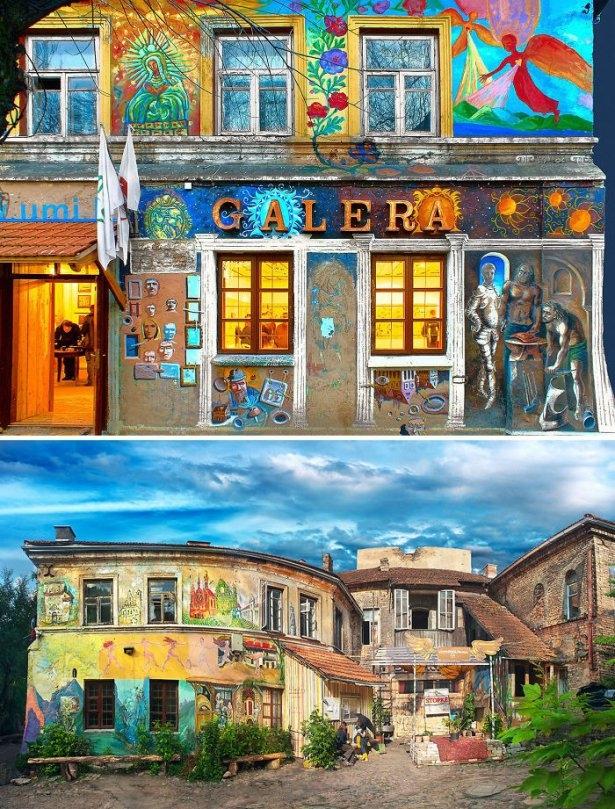 Dünyanın en güzel renkli evleri 6