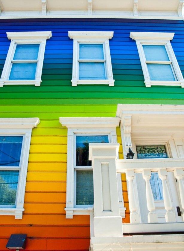Dünyanın en güzel renkli evleri 8