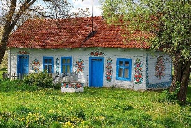 Dünyanın en güzel renkli evleri 9