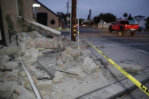 ABD'de 6 şiddetinde deprem! 2