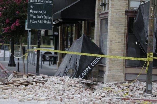 ABD'de 6 şiddetinde deprem! 38