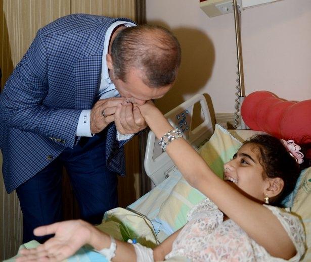Erdoğan'dan Gazzeli yaralılara ziyaret 2