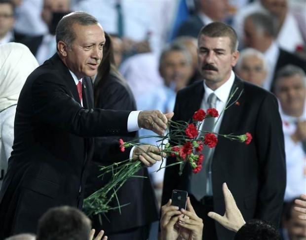 AK Parti 1. Olağanüstü Kongresi 100