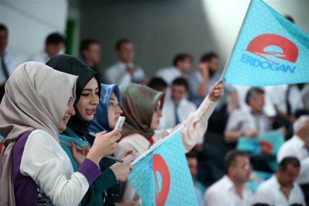 AK Parti 1. Olağanüstü Kongresi 123