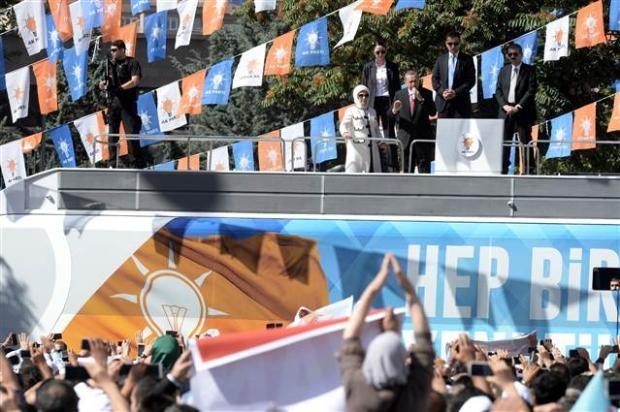 AK Parti 1. Olağanüstü Kongresi 137