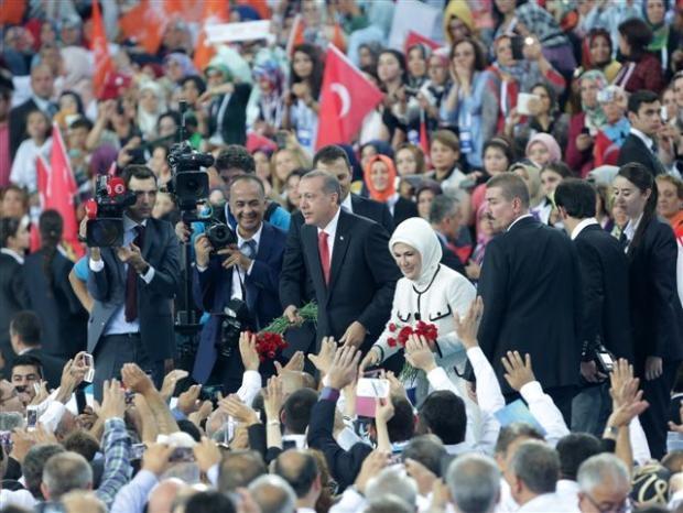 AK Parti 1. Olağanüstü Kongresi 157