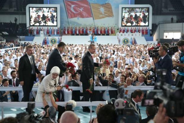 AK Parti 1. Olağanüstü Kongresi 158