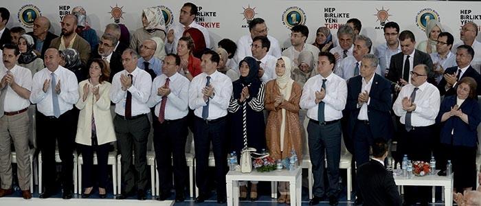 AK Parti 1. Olağanüstü Kongresi 222