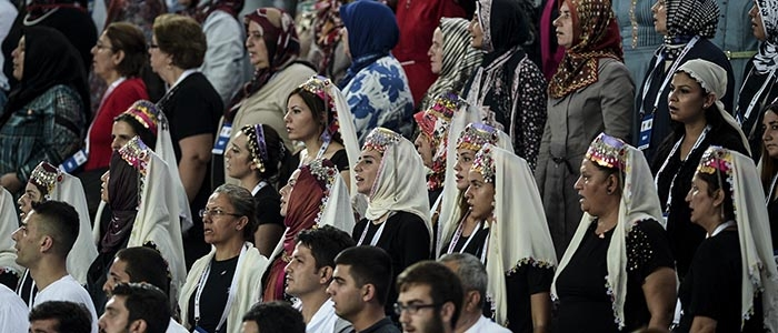 AK Parti 1. Olağanüstü Kongresi 245