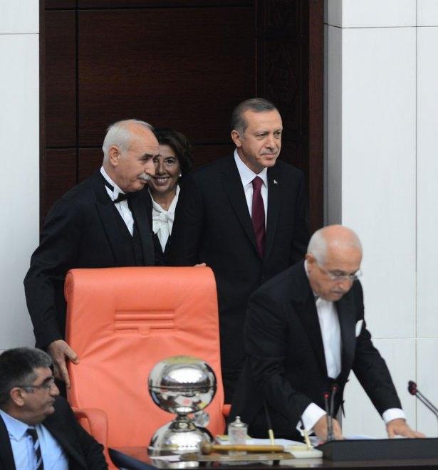 Cumhurun reisi Erdoğan yemin etti 1