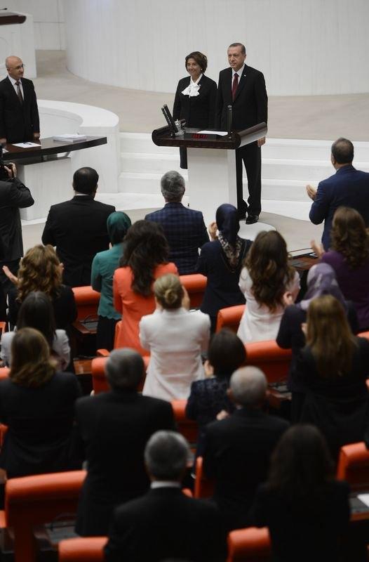Cumhurun reisi Erdoğan yemin etti 11